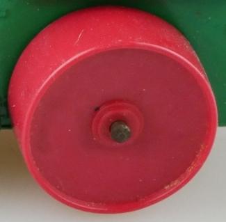 Matchbox Wheels : Roller - Plastic Thin