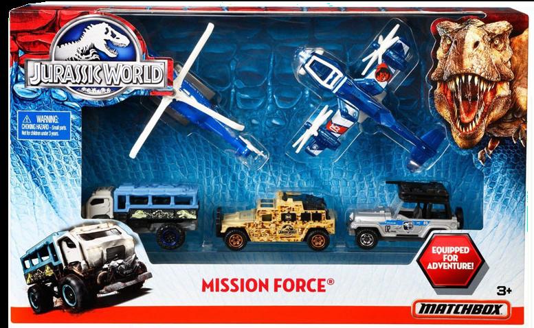 Matchbox Mission Force : 2015 – Jurassic World