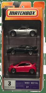Matchbox 3 Pack : 2009 #02