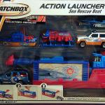 Matchbox Launcher Set : 2001 - Sea Rescue Boat