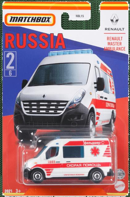 Matchbox MB885 : Renault Master Ambulance