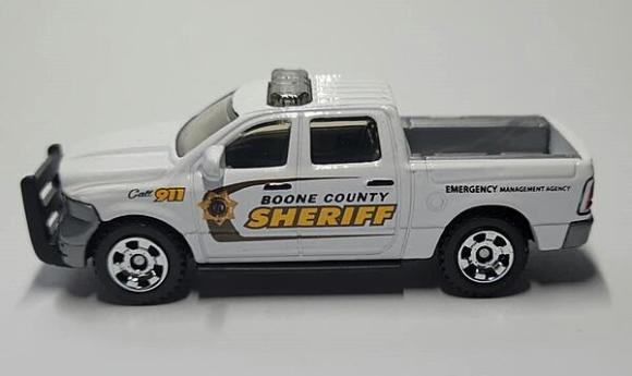 Matchbox MB1021 : '15 Dodge RAM 1500 Police