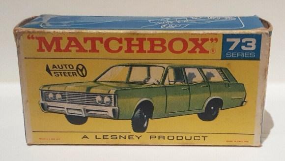 Matchbox Miniatures Box Type – F