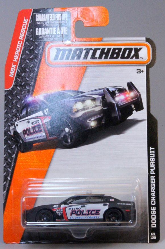 Matchbox 2015 Basic Range Long Card