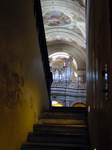 View from the Crypt