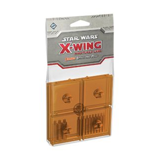 FFG SWX47 X-Wing Pegs and Bases Orange