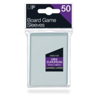 Ultra Pro 82661 Mini European Clear Sleeves