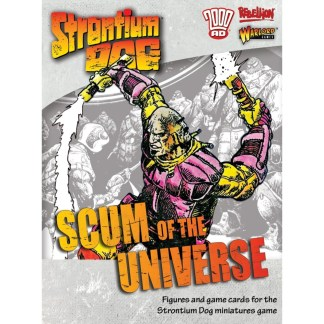 Warlord Strontium Dog 642215009 Scum of the Universe