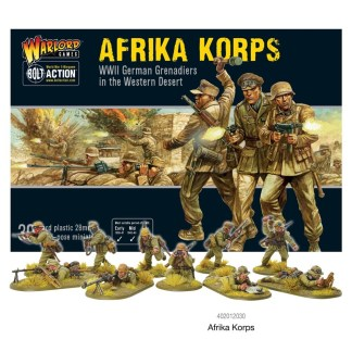 Warlord 402012030 Bolt Action German Afrika Korps