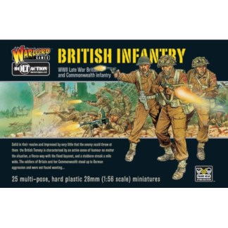 Warlord 402011006 Bolt Action British Infantry