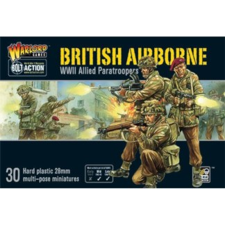 Warlord 402011009 Bolt Action British Airborne