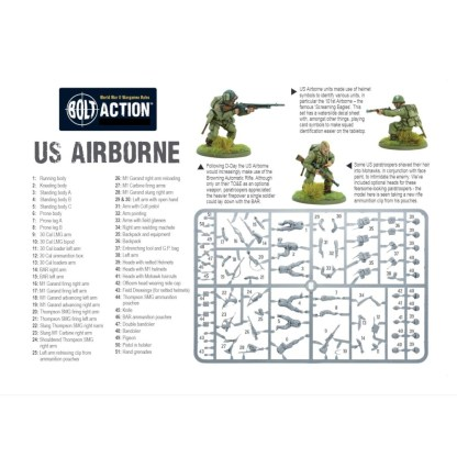 Warlord Games 402013101 Bolt Action US Airborne