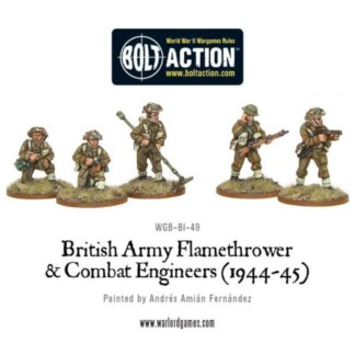 Warlord WGB-BI-49 Bolt Action British Flamethrower and Combat Engineer