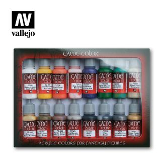 Vallejo 72299 Game Color Introduction Set
