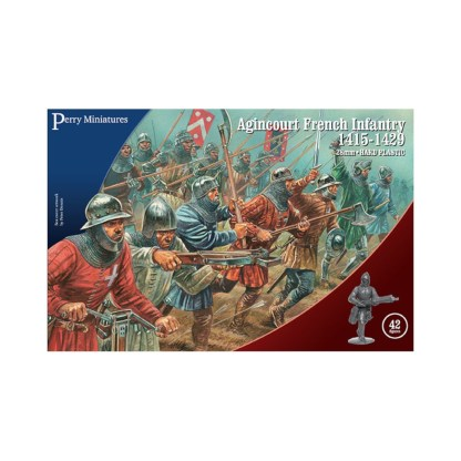 Perry AO50 Agincourt French Infantry