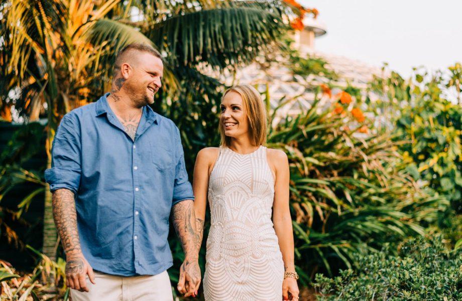 NATALIE + AJ | Mount Coot-tha Botanic Gardens Engagement Session in Brisbane, Australia
