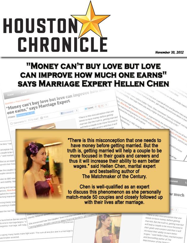 Hellen Chen Featured in Houston Chronicle