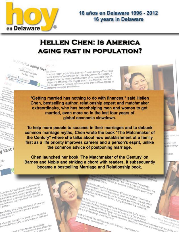 Hellen Chen on Hoy en Delaware