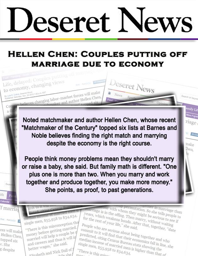 Hellen Chen Featured in Deseret News