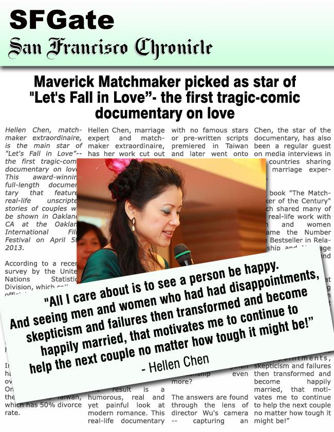 Marriage Expert Hellen Chen on SFGate