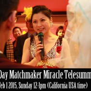 30 Day Matchmaker Miracle Telesummit