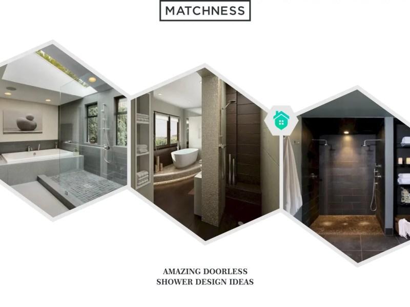 12. doorless shower design