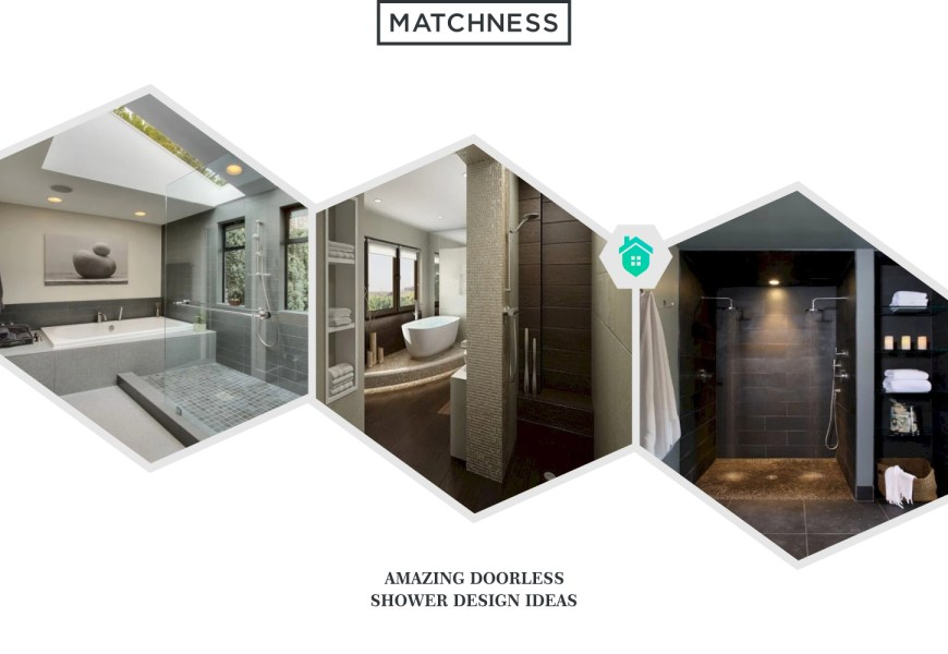 12. doorless shower design