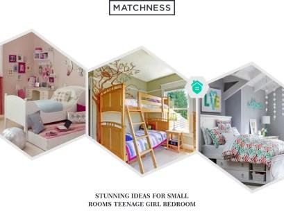 7. small rooms teenage girl bedroom