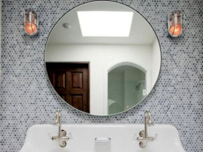 Adorable mosaic marble shower tile for your bathroom 14