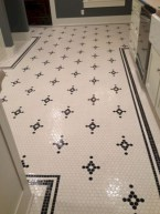 Adorable mosaic marble shower tile for your bathroom 26