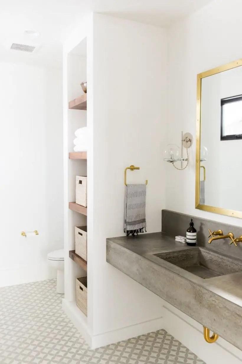 Amazing coastal retreat bathroom inspiration 10