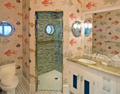 Amazing coastal retreat bathroom inspiration 24
