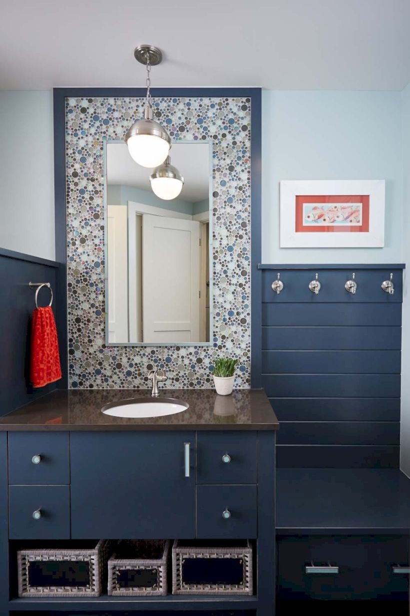 Amazing coastal retreat bathroom inspiration 25