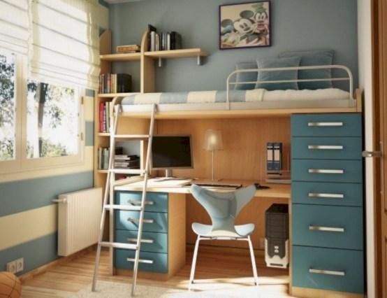 Amazing ikea teenage girl bedroom ideas 21