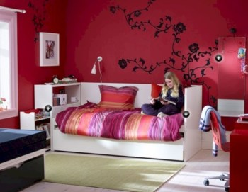 Amazing ikea teenage girl bedroom ideas 23