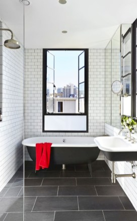 Bathtub and shower tile ideas to beautify your bathroom 07
