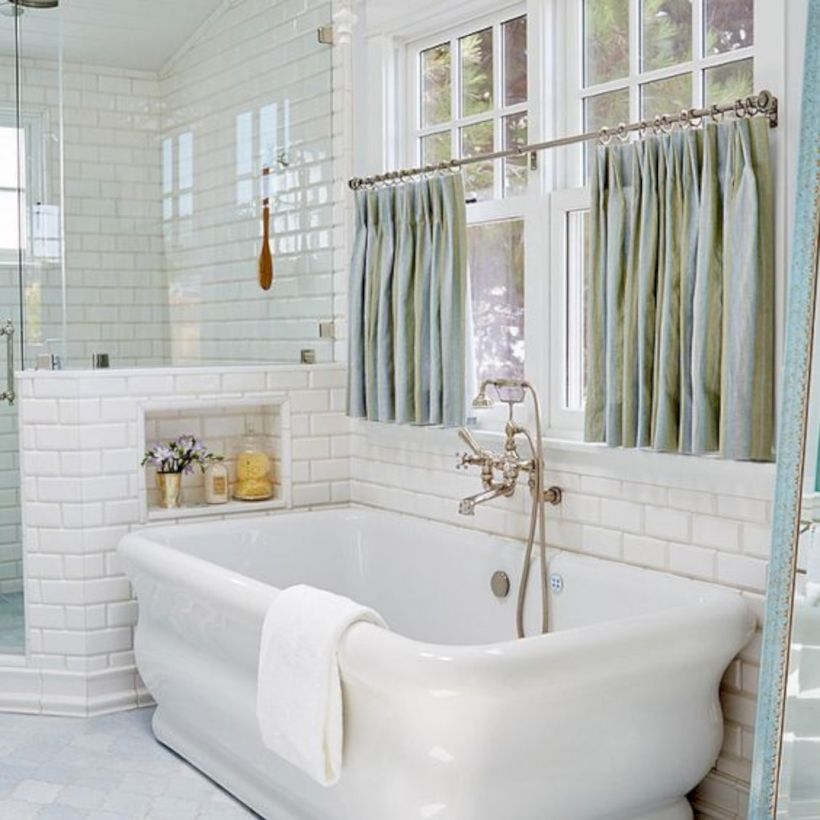 Charmant Donu0027t Forget You Donu0027t Need To Tile An Entire Wall To Create A Special And  Fashionable Design. Bathrooms Are Undoubtedly The ...