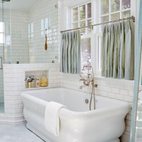 Bathtub and shower tile ideas to beautify your bathroom 22
