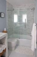 Beautiful bathroom frameless shower glass enclosure 22