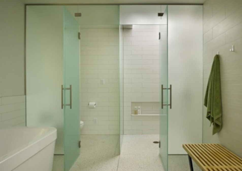Beautiful bathroom frameless shower glass enclosure 23