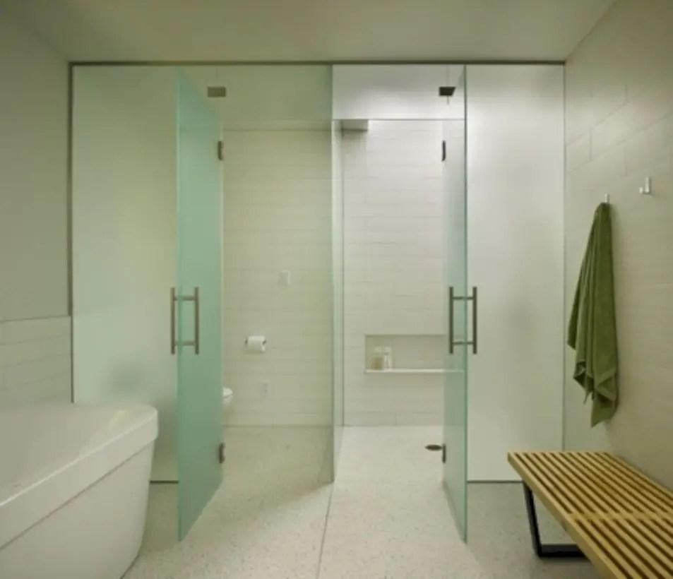 Beautiful bathroom frameless shower glass enclosure 23