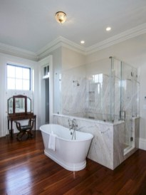 Beautiful bathroom frameless shower glass enclosure 28