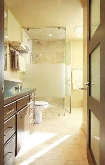 Beautiful bathroom frameless shower glass enclosure 38