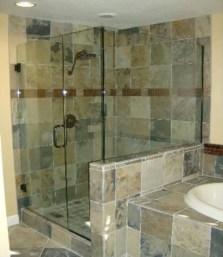 Beautiful bathroom frameless shower glass enclosure 44