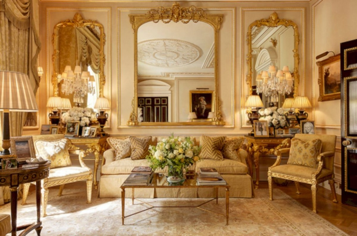 Beautiful living room design ideas with mirror 03