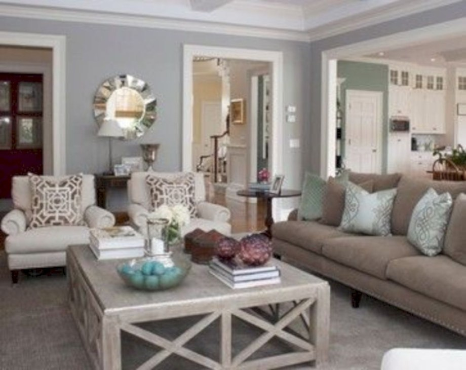 Beautiful living room design ideas with mirror 22