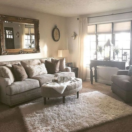 Beautiful living room design ideas with mirror 28