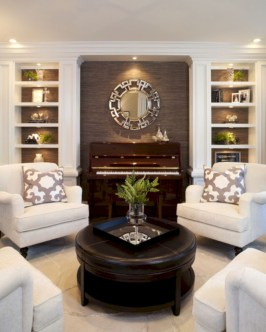 Beautiful living room design ideas with mirror 32