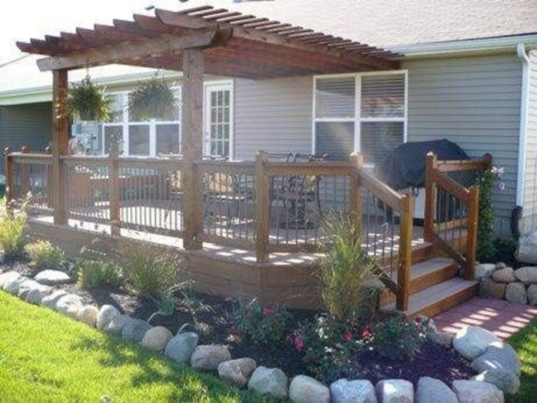 Beautiful porch ideas that will add value your home 04