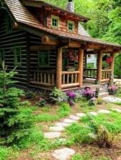 Beautiul log homes ideas to inspire you 38
